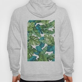 Tropical leaves II Hoody