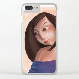 Valerie Clear iPhone Case