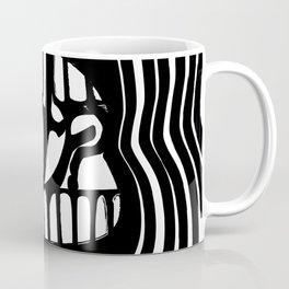 WTF: Black and White Coffee Mug