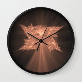 Folding Leaf On The Tree of Knowledge Wall Clock
