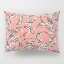 lucky koi coral Pillow Sham