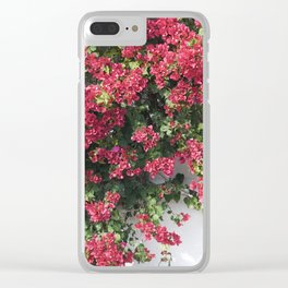 socal bougainvillea Clear iPhone Case