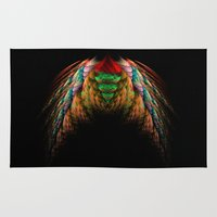 angel wings Area & Throw Rugs featuring Wings  by jbjart