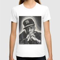 jay z T-shirts featuring Jay-Z by Sarah Painter