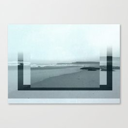Ocean rectangle Canvas Print