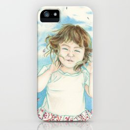 Spring Gust iPhone Case