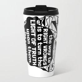 Ida B. Wells-Barnett - Black Lives Matter - Series - Black Voices Travel Mug