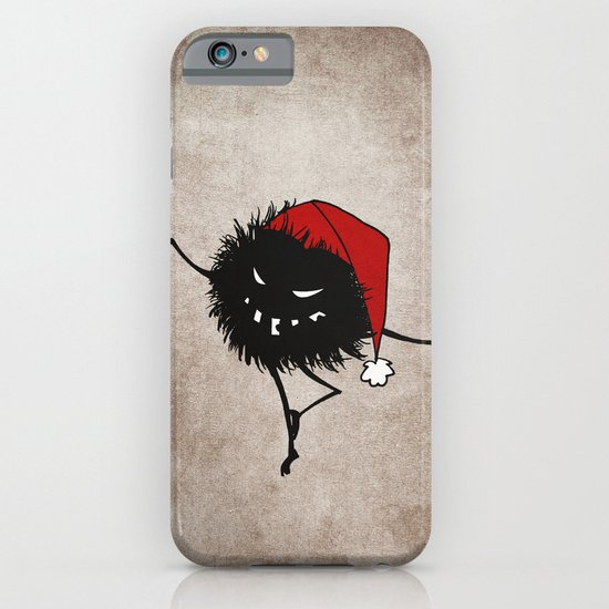 Dark Evil Christmas Bug iPhone & iPod Case