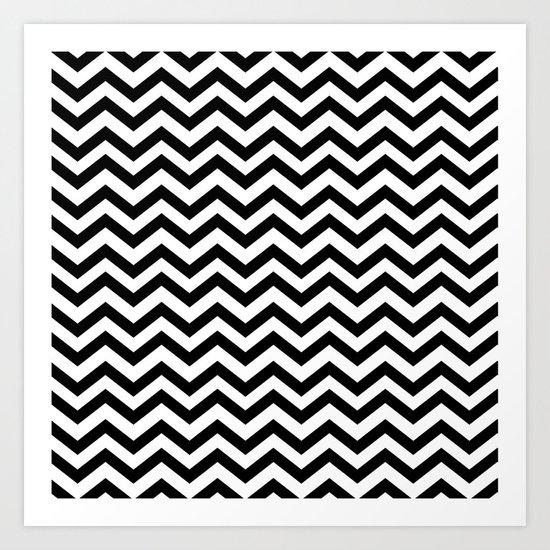 Keep calm and dream on zig zag chevron black lodge floor for Floor prints