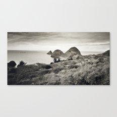... L'île du bout du Monde ... Canvas Print