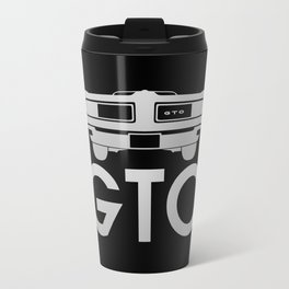 Pontiac GTO - silver - Travel Mug