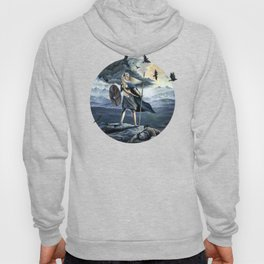 Valkyrie and Crows Hoody