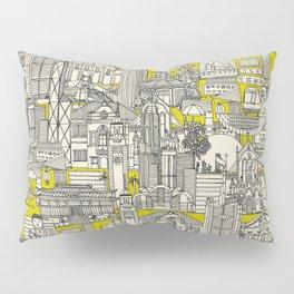 Hong Kong toile de jouy chartreuse Pillow Sham