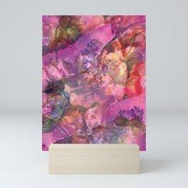 Unfolding Flowers Mini Art Print