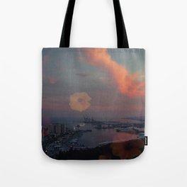 Spain Clouds Tote Bag
