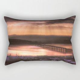 Dundee Railway Bridge Rectangular Pillow
