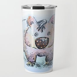 Wendy the Wombat Travel Mug