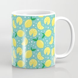 Juicy lemon pattern Coffee Mug