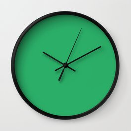 Island Green Wall Clock