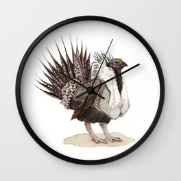 Greater Sage-Grouse Wall Clock