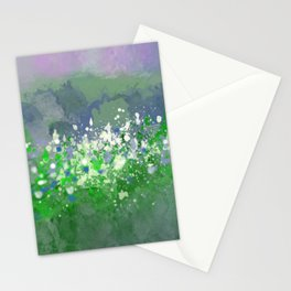 Ocean Spray in Greens and Blue Stationery Cards