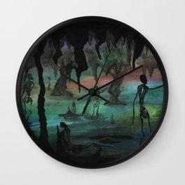 Caverns Wall Clock