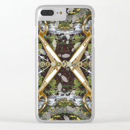 Page of Wands Clear iPhone Case