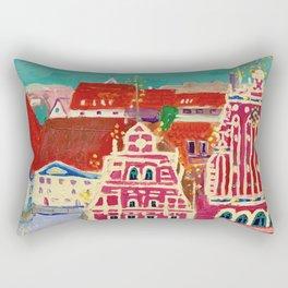 Expression Blackheads Rectangular Pillow