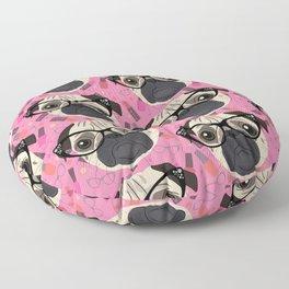 Uptown Pug Floor Pillow