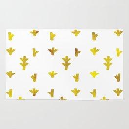Gold boho pattern Rug