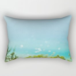 Caribbean Michigan Rectangular Pillow