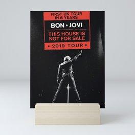 bon jovi this house not for sale uk tour 2019 putro Mini Art Print