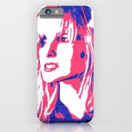 Hayley Williams AL Portrait iPhone Case