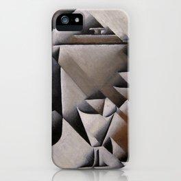 "Juan Gris ""Jar, Bottle and Glass"" iPhone Case"