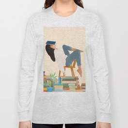 Lost in my books Long Sleeve T-shirt