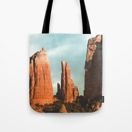 Desert Vortex Tote Bag