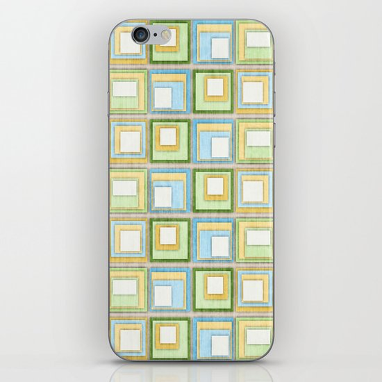English Country Tiles. iPhone & iPod Skin