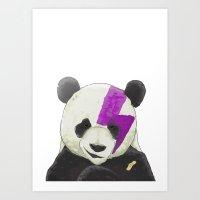 vandal panda Art Print