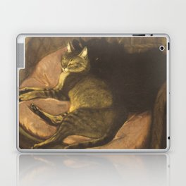 "Théophile Steinlen ""Chat allongé sur le sofa"" Laptop & iPad Skin"