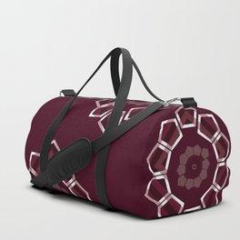GeoFlower - Plumb Duffle Bag