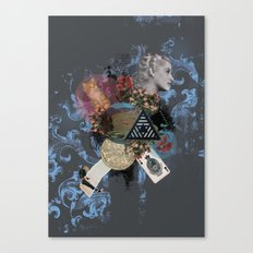 What Went Before Part 3 Canvas Print