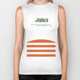 Juno - Alternative Movie Poster, classic movie, funny movie, minimal movie poster Biker Tank