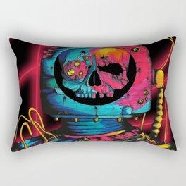Skelenaut V4 (Color) Rectangular Pillow