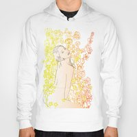erotic Hoodies featuring Floral Beauty  by Stevyn Llewellyn