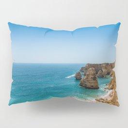 Beach at Lagoa, Algarve, Portugal Pillow Sham