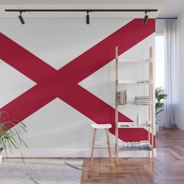 State flag of Alabama Wall Mural