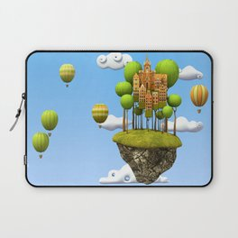 New City in the Sky Laptop Sleeve