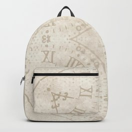 Abstract Roman Numeral SB74 Backpack