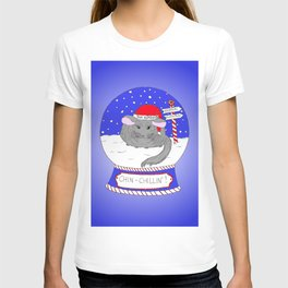Chin-Chillin' Christmas T-shirt