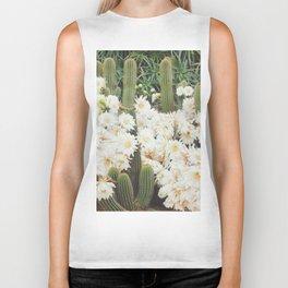 Cactus and Flowers Biker Tank